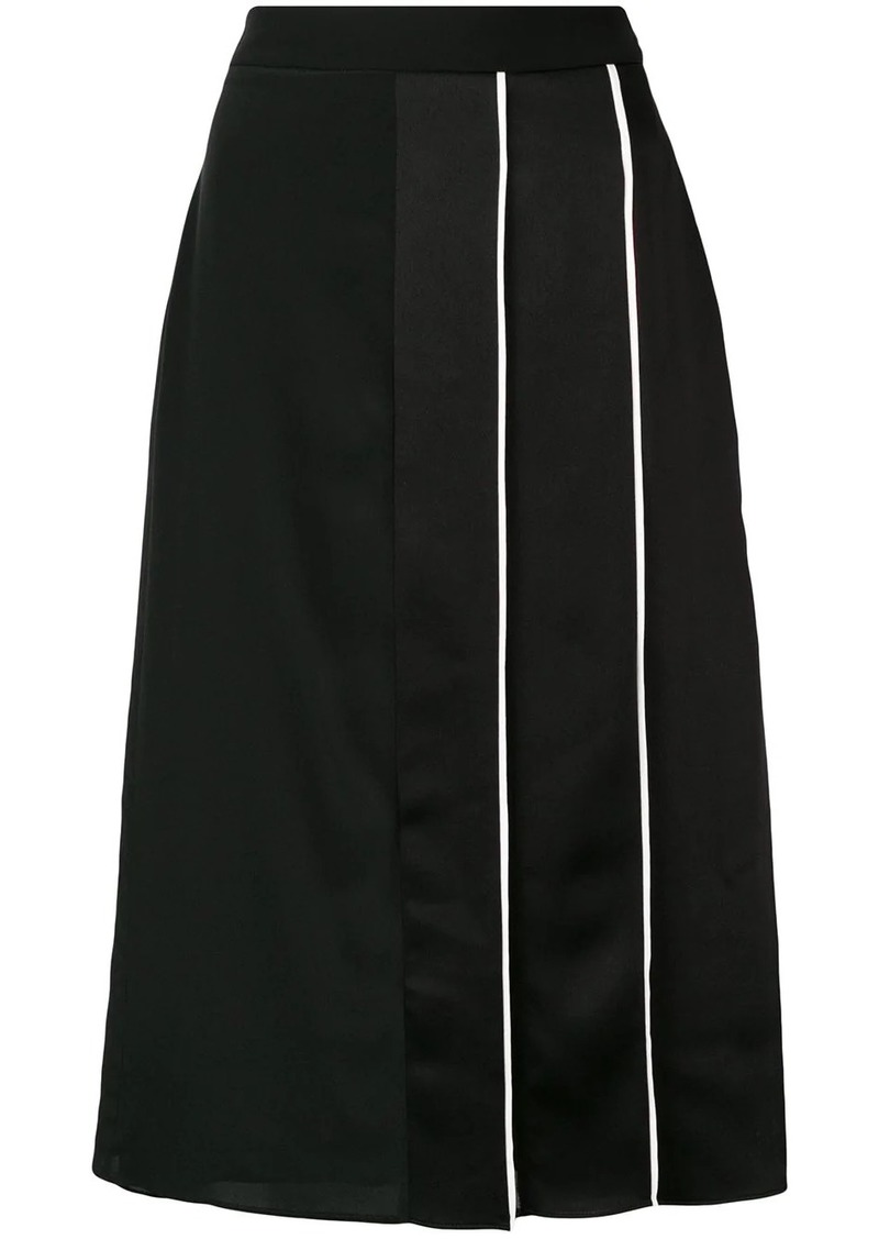 Givenchy panelled midi skirt