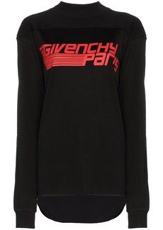 Givenchy paris logo print sweatshirt