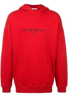 Givenchy Paris logo vintage hoodie