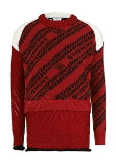 Givenchy Patchwork Knitwear