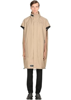Givenchy Perforated Logo Nylon Parka