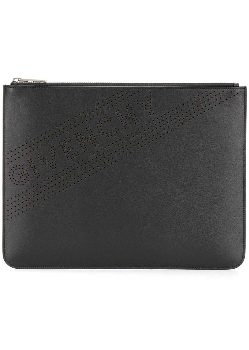 Givenchy Perforated logo pouch