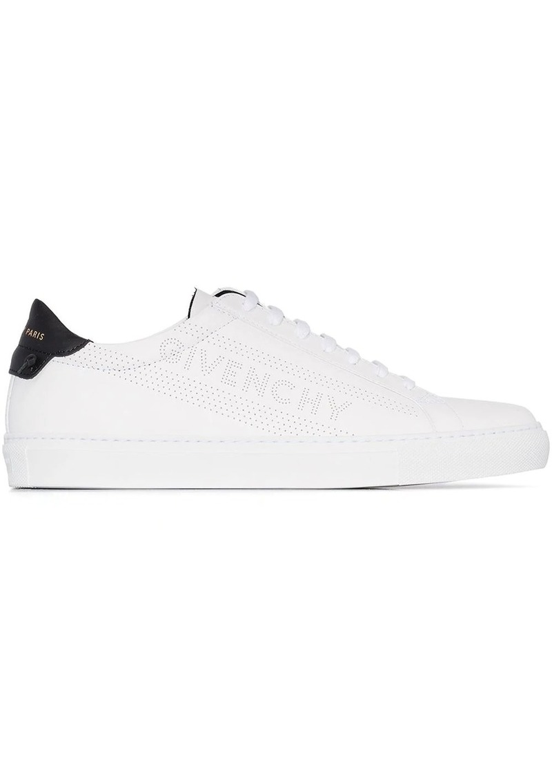 Givenchy perforated logo lace-up sneakers