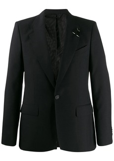 Givenchy piercing-detail blazer