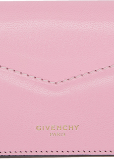 Givenchy Pink & Red Edge Business Card Holder