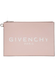 Pink 'Givenchy Paris' Iconic Pouch