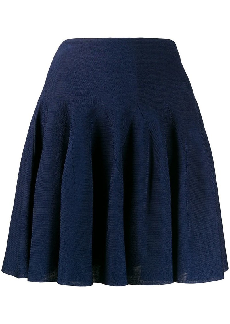 Givenchy pleated high-rise mini skirt