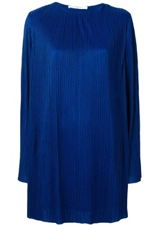 Givenchy pleated longsleeved dress