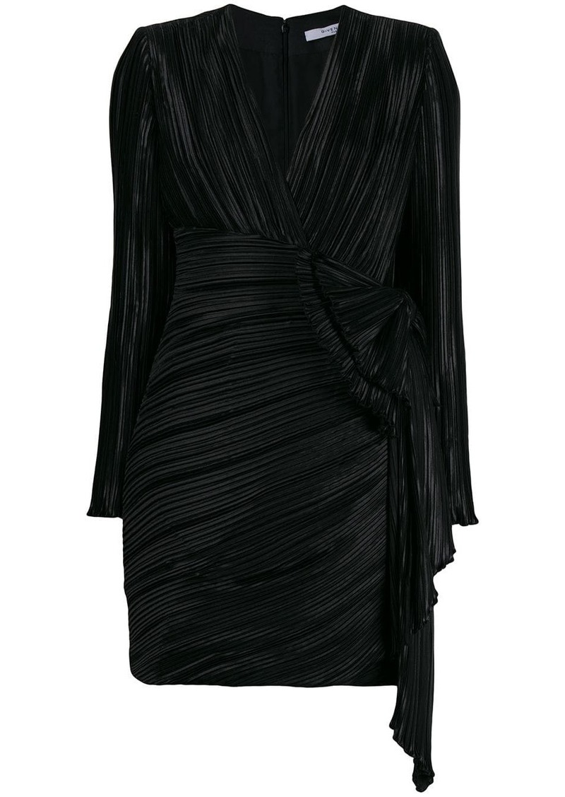 Givenchy pleated mini dress