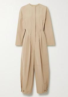 Givenchy Pleated Taffeta Jumpsuit