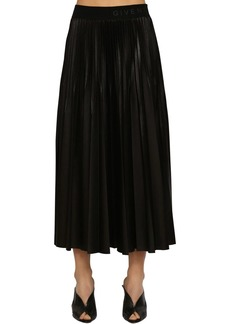 Givenchy Pleated Techno Jersey Skirt