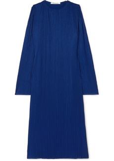 Givenchy Plissé-crepe Maxi Dress