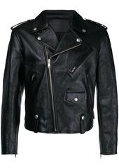 Givenchy printed back biker jacket
