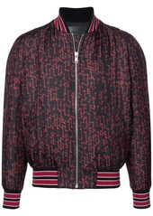 Givenchy printed bomber jacket