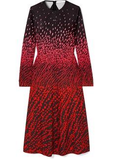 Givenchy Printed Crepe Midi Dress