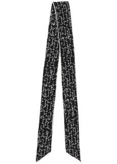 Givenchy printed thin scarf