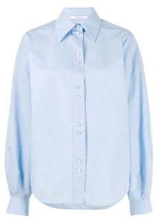 Givenchy puffed sleeves buttoned shirt