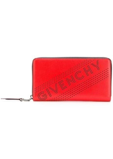 Givenchy perforated logo wallet