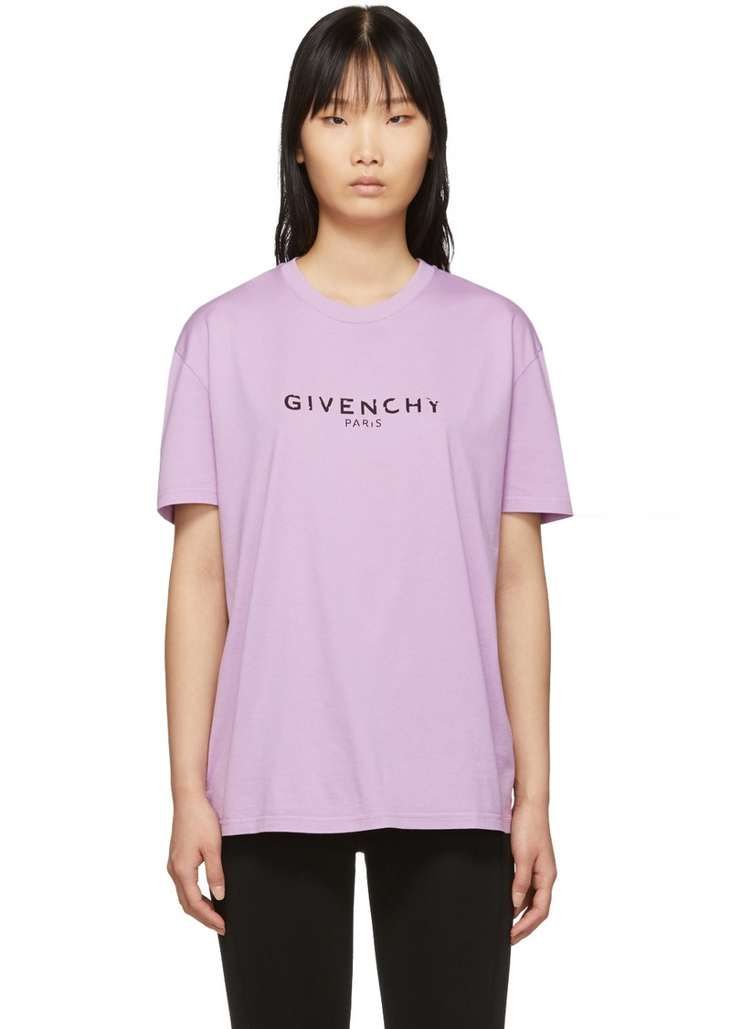 Givenchy Purple Vintage T-Shirt