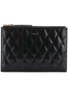 Givenchy quilted clutch bag