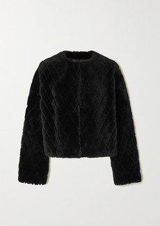 Givenchy Quilted Shearling Jacket