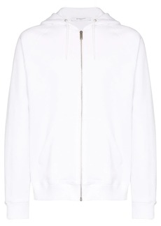 Givenchy rainbow logo-print zipped hoodie