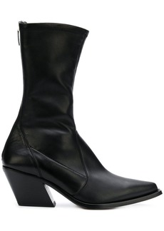 Givenchy rear-zip pointed boots