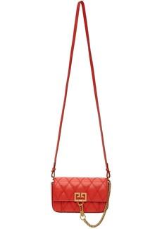 Givenchy Red Mini Pocket Bag