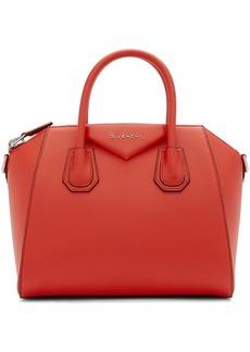 Givenchy Red Small Antigona Bag