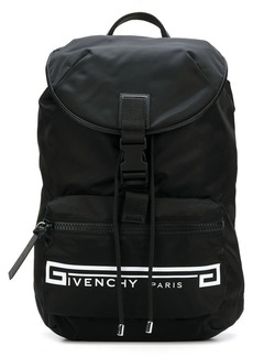 Givenchy Retro Logo Flames backpack