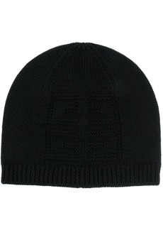 Givenchy rib-trimmed beanie