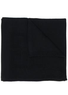Givenchy ribbed-hem scarf