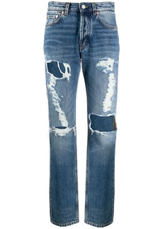 Givenchy ripped distressed jeans