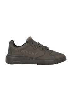 Givenchy Rubberized logo wing low sneaker