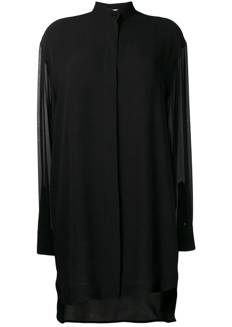 Givenchy ruffle trim dress