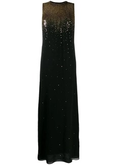 Givenchy sequin embroidered evening dress