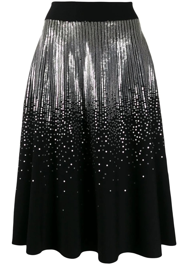 Givenchy sequined midi skirt