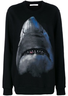 Givenchy shark jersey sweater