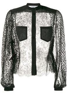 Givenchy sheer blouse
