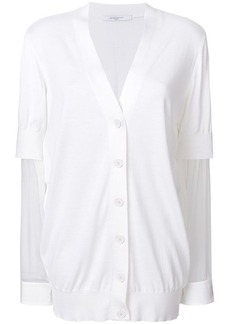 0ae88c9dd Givenchy Givenchy Wool   Silk Cardigan with Attached Suspenders