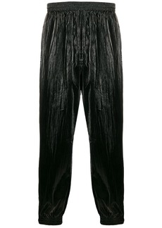 Givenchy shiny wide-leg trousers