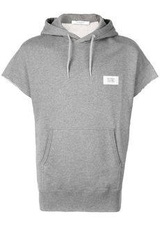 Givenchy short-sleeved hooded top