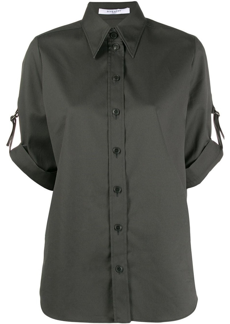 Givenchy short sleeved military shirt