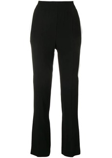 Givenchy side stripe trousers
