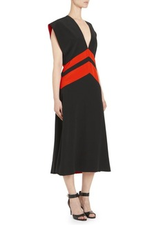 Givenchy Silk Midi Dress