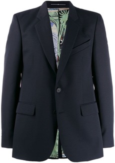 Givenchy structured shoulders single-breasted blazer