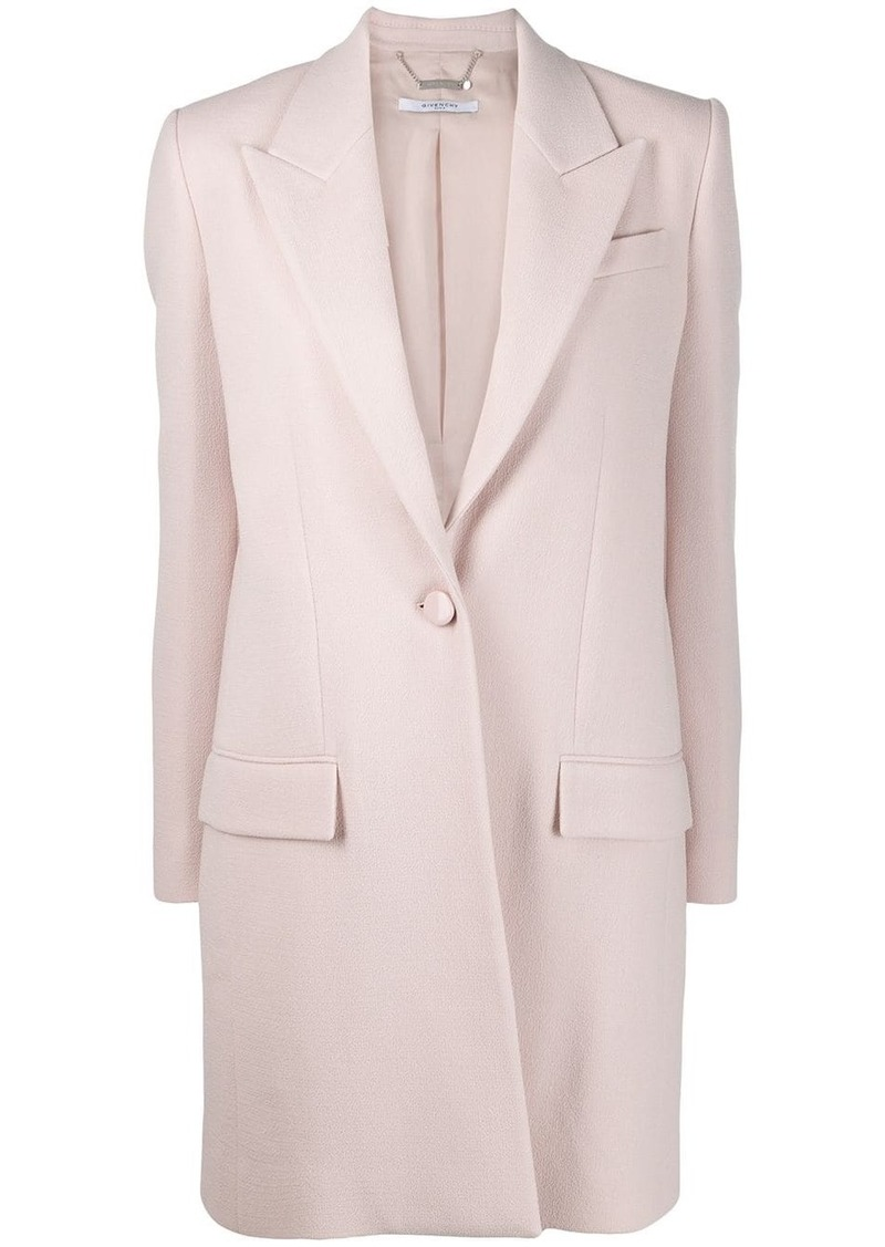 Givenchy single-breasted tailored coat