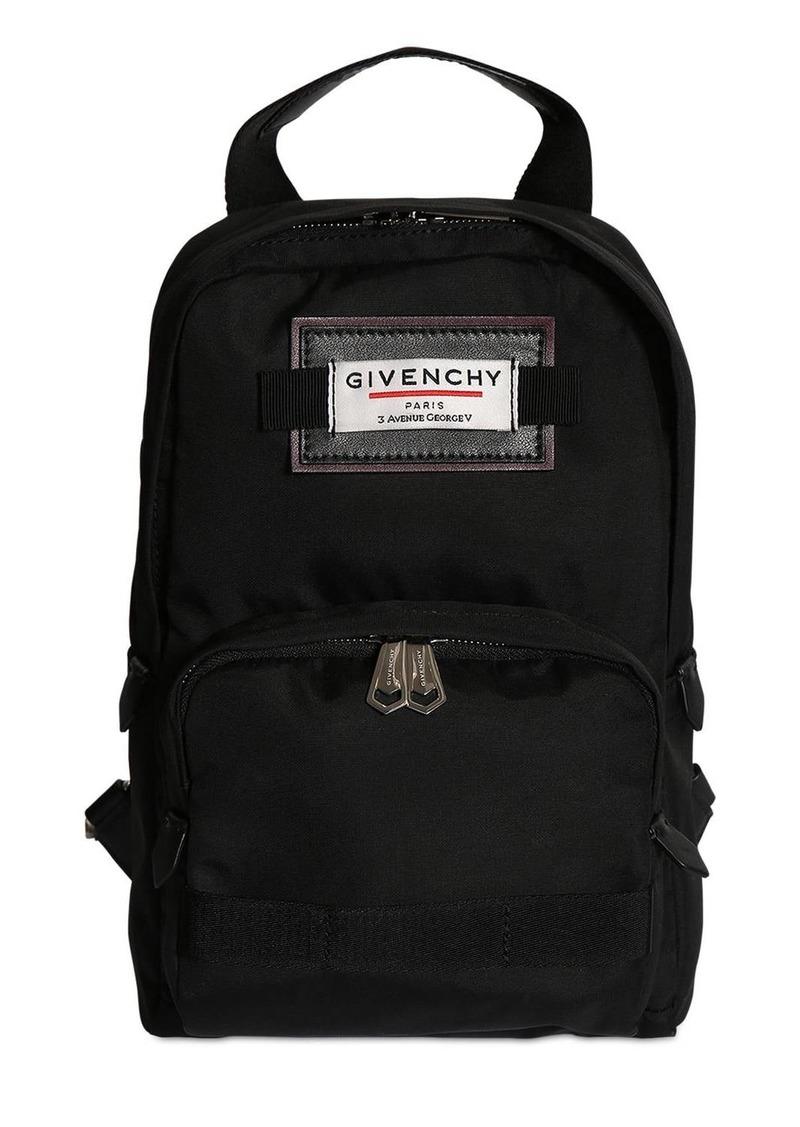 Givenchy Single Shoulder Strap Nylon Backpack
