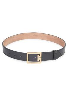 Givenchy Skinny Leather Belt