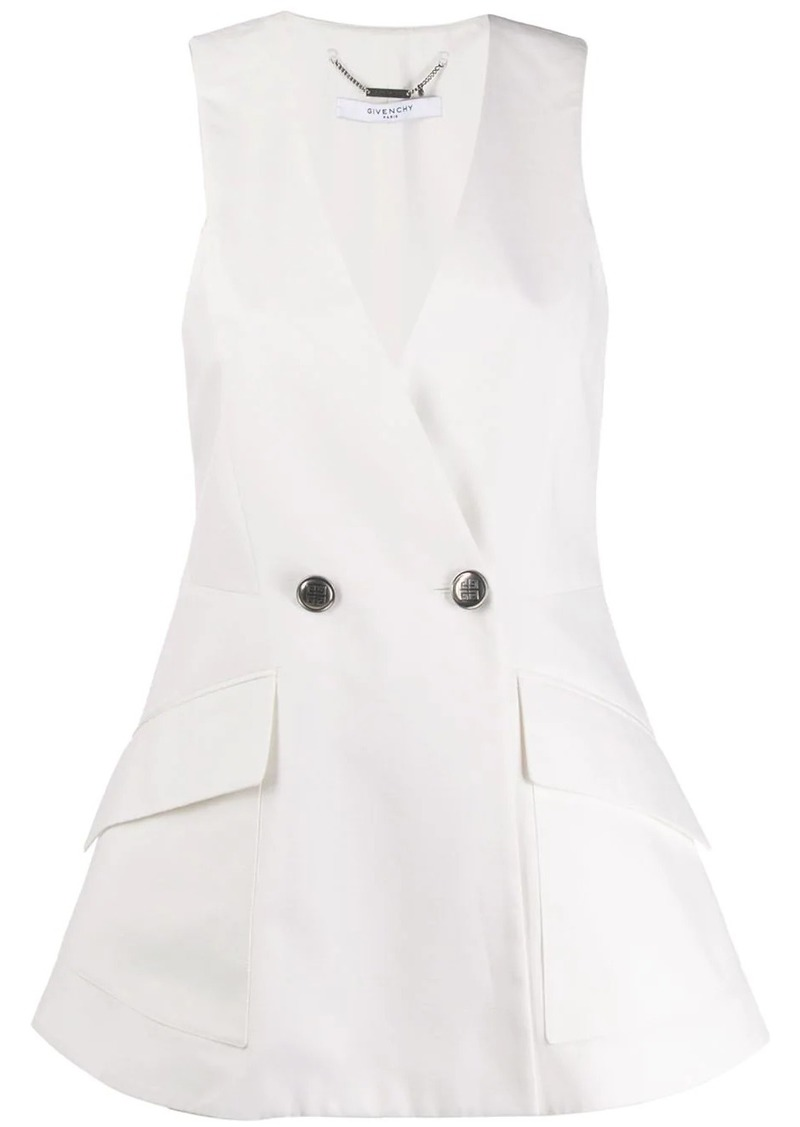 Givenchy sleeveless blazer jacket